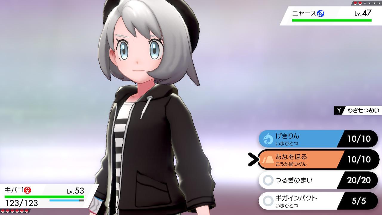 剣 キャラ ポケモン メイク 盾